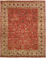 Tabernacle TK-480 Rust Ivory Area Rug by Kalaty