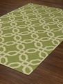 TE8 Lime Terrace Outdoor Area Rug by Dalyn