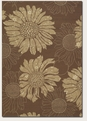 Topeka Cocoa Sand 2197/8022 Covington Outdoor Area Rug by Couristan