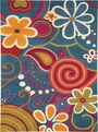 Turquoise 1704 500 Fantasia Rug By Dynamic