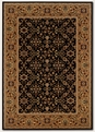 Ushak Black Deep Maple 8198/2596 Royal Kashimar Area Rug by Couristan