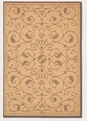 Veranda Natural Cocoa 1583/3000 Recife Outdoor Area Rug by Couristan