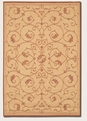 Veranda Natural TerraCotta 1583/1112 Recife Outdoor Area Rug by Couristan