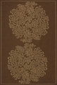 Veranda VR-09 Brown Outdoor Area Rug by Momeni