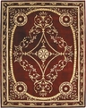 Versailles Palace Palace Jewel VP07 BRK Brick Area Rug by Nourison