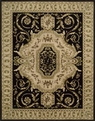Versailles Palace VP14 Black Area Rug by Nourison