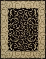 Versailles Palace VP43 Black Area Rug by Nourison