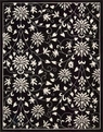 Versailles Palace VP49 Black White Area Rug by Nourison