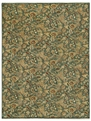 Wildflowers Blue Ice Boca Park Area Rug by Capel