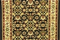 World WO07 Black Traditional Carpet Stair Runner