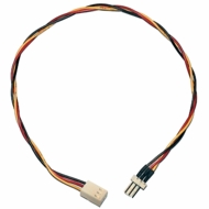"12"" 3 Pin Fan Power Extension Cable"