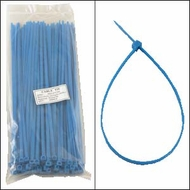 12 Inch Blue Nylon Cable Ties - 100 Pack