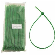 12 Inch Green Nylon Cable Ties - 100 Pack