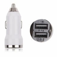 2 Port 3A USB Car Charger for Smartphones, Tablets, and Other USB Devices