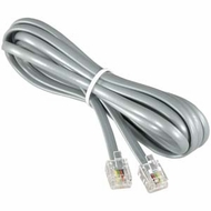 25 Foot RJ11 (6P4C) Modular Telephone Cable