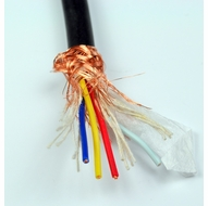 4 Conductor Shielded Audio Bulk Cable - Per Foot