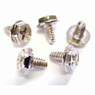 #6-32 x 0.25 Hex/Phillips Screws, Pack of 50