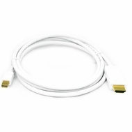 6 Foot Mini DisplayPort to HDMI Cable