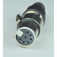7 Pin XLR Female Connector