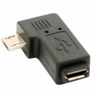 90 Degree Right Angle Micro USB Adapter