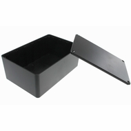 ABS Plastic Project Box 5.89 x 3.89 x 2.36 inch - Black