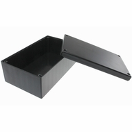 ABS Plastic Project Box 6.29 x 3.73 x 2.43 inch - Black