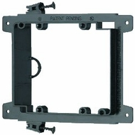 Arlington Industries LVS2, Double Gang Low Voltage Screw-In Mounting Bracket