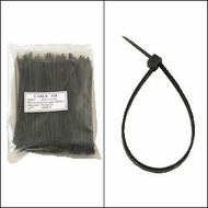 "Bag of 100 6"" Black Cable Ties"