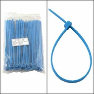 "Bag of 100 6"" Blue Cable Ties"