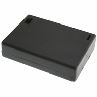 Battery Holder / Cover Type for 3 AA Battery with 6 inch AWG24 Lead (Side By Side)