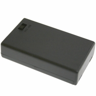 Battery Holder / Cover Type for 3 AAA Battery with 6 inch AWG24 Lead (Side By Side)