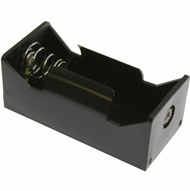 Battery Holder / Open Type for 1 C Battery with 6 inch 24AWG Lead