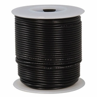 Black 100 Foot 18 AWG stranded hook-up wire