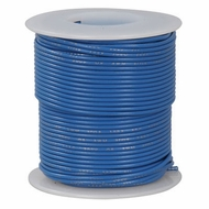 Blue 100 Foot 22 AWG stranded hook-up wire