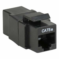 Cat 5E Inline Coupler w/ Keystone Latch - 10 different colors