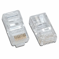 Cat5e Modular Plug for Solid wire - 100 Pack