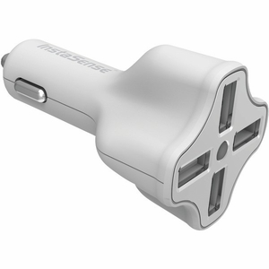 DIGIPOWER PC-406I InstaSense™ 4-Port 6.2-Amp USB Car Charger - Click to enlarge