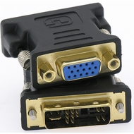DVI-A Male to VGA Female Analog Adapter