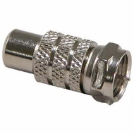 F-Type Male to RCA Jack Adapter
