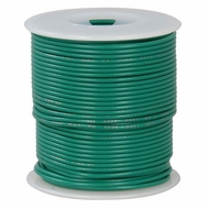 Green 100 Foot 20 AWG stranded hook-up wire