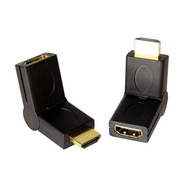 HDMI Male / Female 180 degree Swivel adapter