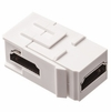 HDMI Right Angle Keystone Coupler for Wall Plate