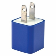 iEssentials IE-ACPUSB-BL 1A iPhone�/iPod�/Smartphone USB Wall Charger (Blue)