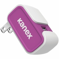 KANEX 2.4-Amp V2 USB Wall Charger (Purple)