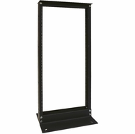 "** Local Pickup Only ** 4 Foot Black Aluminum 19"" Wide Relay Rack"
