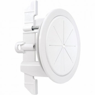 Midlite Speedport� Universal Cable Pass Through & Anchor System (2 3/8�, White)