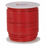 Red 100 Foot 18 AWG stranded hook-up wire
