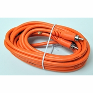 Steren 16 Foot Orange Digital Audio / Subwoofer RCA Cable
