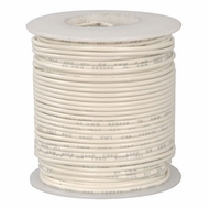 White 100 Foot 22 AWG stranded hook-up wire