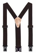 "1-1/2"" Brown Original Perry Suspenders - 54"""